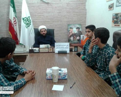 اولین جلسه ی شورای دانش آموزی