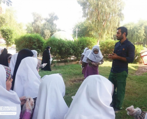 اردوی دانش آموزان دبستان بهشت قرآن