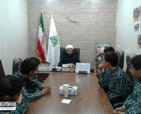 اولین جلسه شورای دانش آموزی